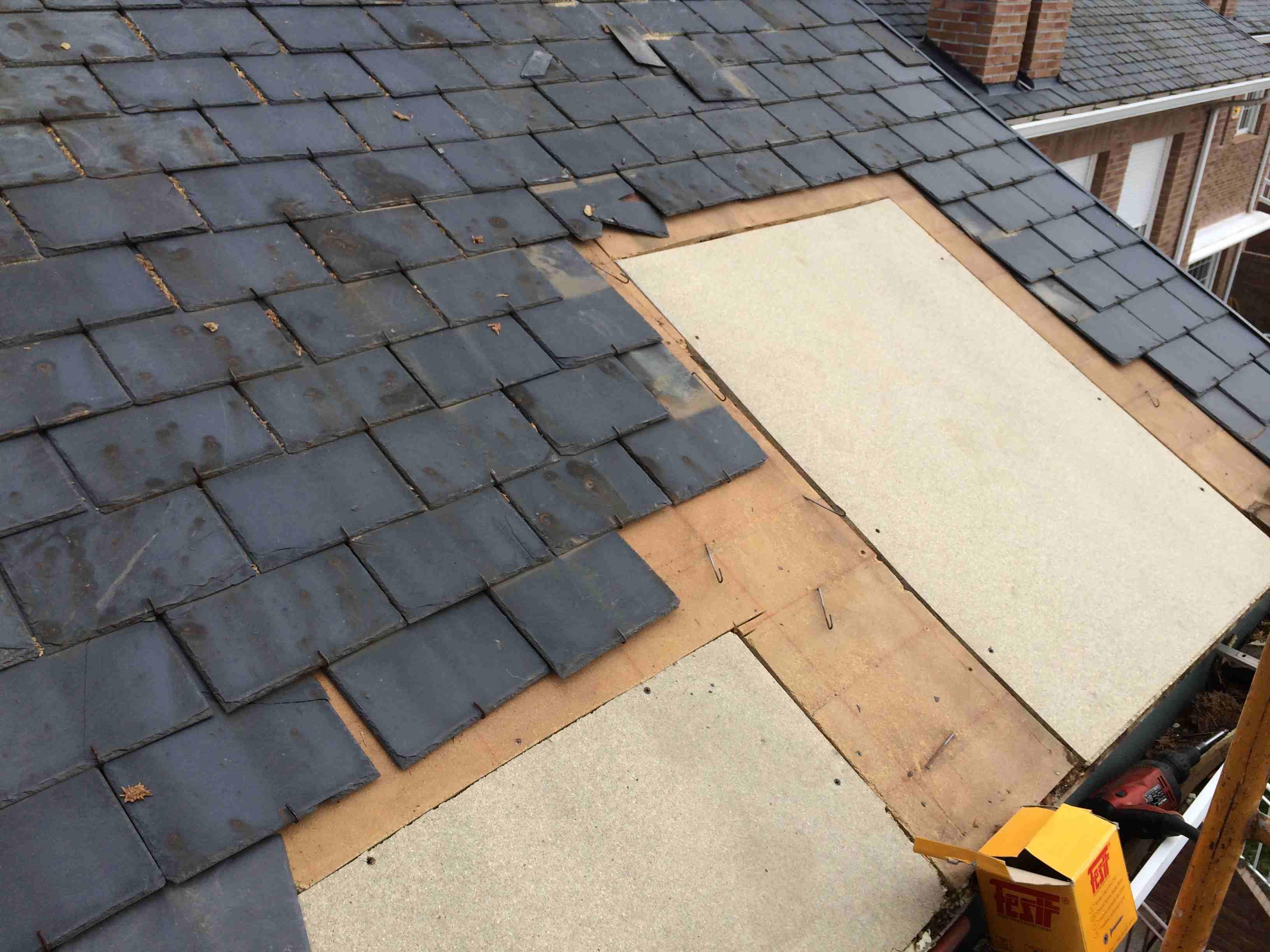 Para nuestra familia reparacion de tejados de pizarra - Tejados de pizarra ...