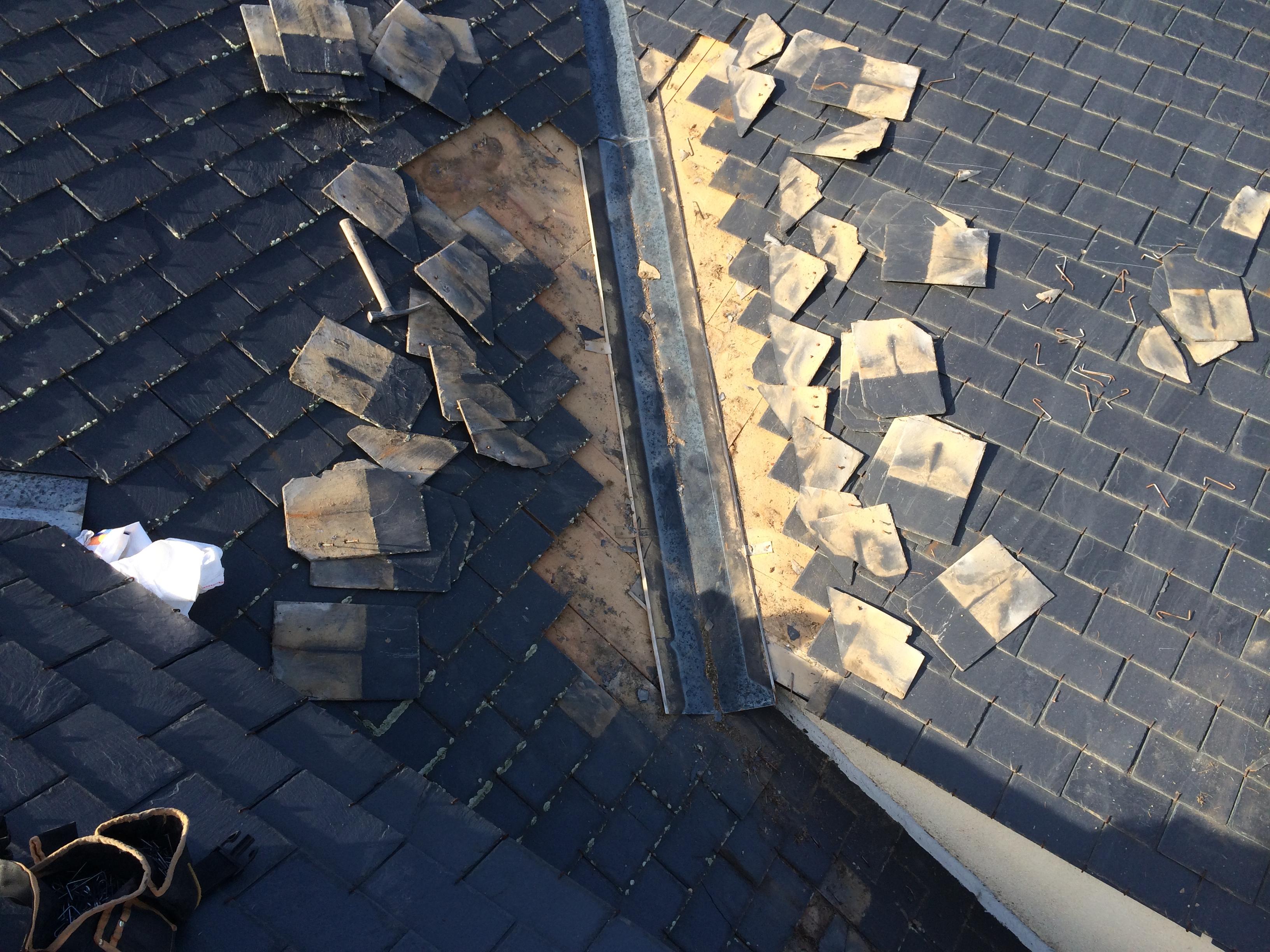 Reparacion tejados pizarra tejados de pizarra madrid - Tejado de pizarra ...
