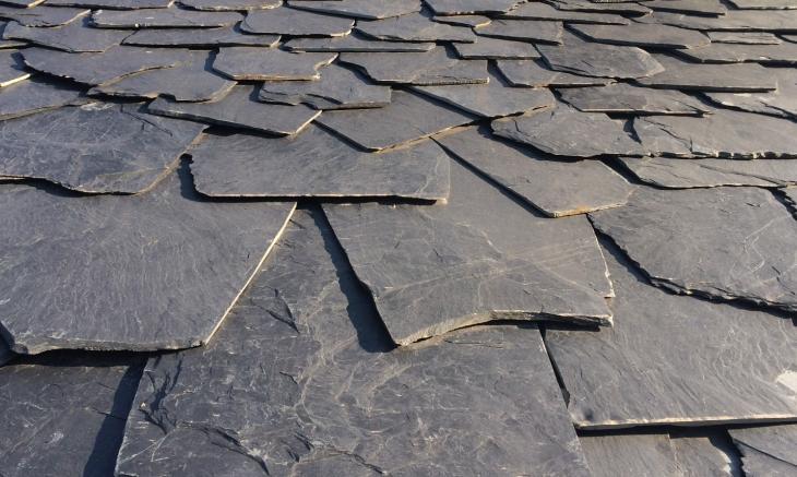 Tipos de pizarra tejados de pizarra madrid for Tipos de cubiertas para tejados